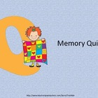 Memory or Life Quilts Activity