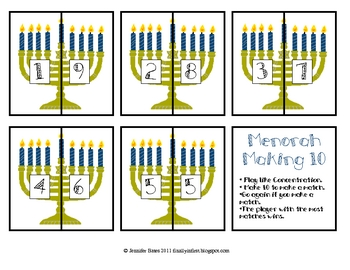 Menorah Making 10