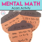 Mental Math Activity