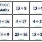 Mental Math Flash Cards