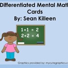 Mental Math Multidisciplinary Cards