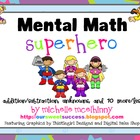 Mental Math Superhero {Daily Smart Board Exercises}