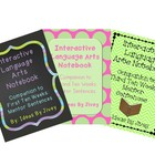 Mentor Sentence Interactive Language Arts Notebooks Bundle
