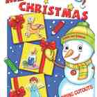 Merry Christmas Coloring Cutouts