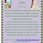 Merry Christmas, Davy! Comprehension Travel Game