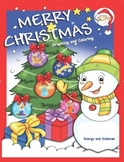 Merry Christmas Graphing and Coloring Activity Book
