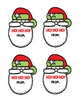 Merry Christmas SANTA Gift Tags
