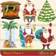Merry Claus Santa Clipart Graphics