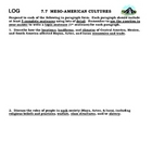 Meso-America Writing Logs
