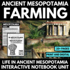 Mesopotamia: Integrated Art, History, and Creative Writing