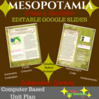 Mesopotamia Unit - Project Based Learning