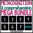 Metacognition ~ Comprehension ~ Mega Bundle ~ Improve Read