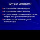 Metaphors