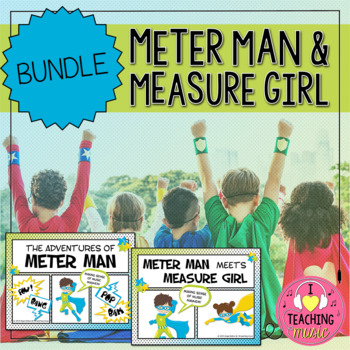 Meter Man and Measure Girl Bundle