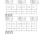 Metric Conversions VersaTile Worksheet