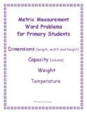 Metric Measurement Word Problems