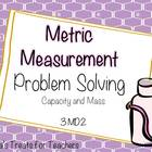 Metric Measuring Problem Solving-capacity and mass
