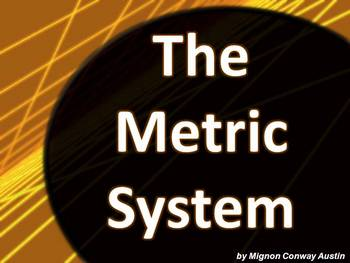 Metric System PowerPoint Notes with Class Practice