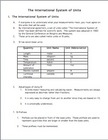 Metric System and Dimensional Analysis Notes to accompany