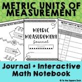 Metric Units of Measure Journal and Activities  CCS: 5.MD