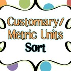 Metric and Customary Measurement Sort Freebie