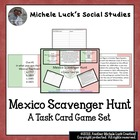 Mexico Scavenger Hunt Game!  Great Review or End-of-Year A