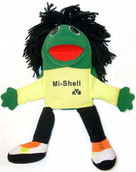 Mi-Shell Turtle Puppet