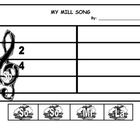 Mi So La Lesson Bundle  with original Winter Song