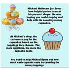 Michael McDream's Counting Money Cupcake Shop - Money