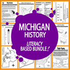 Michigan History Unit-State and Core Standard Aligned