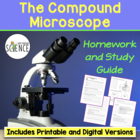Microscopes:  Homework / Study Guide