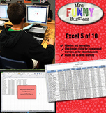 Microsoft Excel Video Tutorial Lesson 5 of 10