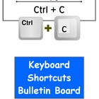 Microsoft Office Keyboard Shortcuts Bulletin Board Kit