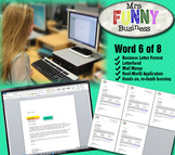 Microsoft Word Video Tutorial Lesson 6 of 8 - Business Let