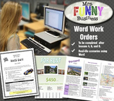Microsoft Word Work Orders