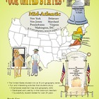 Mid-Atlantic States-&#039;Our United States&#039; 32-Page Lesson Pla