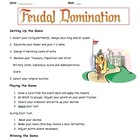 Middle Ages - Feudal Domination Game