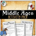 Middle Ages Project / Assignment Package - 5 assignments!!