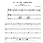 "Middle C Song (""The Most Famous Note!""), Student Edition"