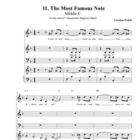 "Middle C Song (""The Most Famous Note!""), Teacher Edition"