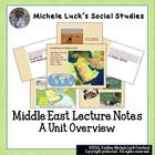Middle East Overview Interactive Lecture Notes & Activity