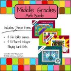 Middle Grades Math Bundle