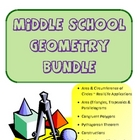 Middle School Geometry Bundle