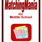 Middle School MatchingMania Book