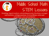 Middle School Math AIS/RTI/Review/Summer Camp Fun Lessons