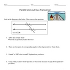 Middle School Math Standard Review/Pythagorean, Parallel L
