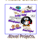 Middle School Novel Project Packet