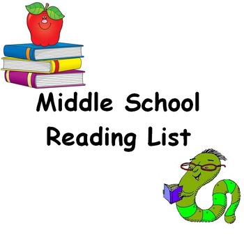 Middle School Reading List