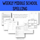 Middle School Spelling: A Year-Long Differentiated Approach
