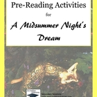 Midsummer Night's Dream Pre-Reading Pack